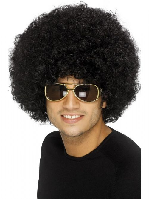 70's Funky Afro Wig 2